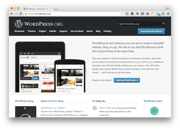 How to Install WordPress: TheApplication