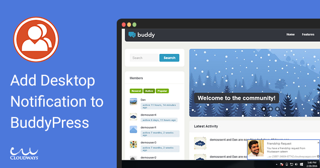 How to Add Desktop Notifications in BuddyPress