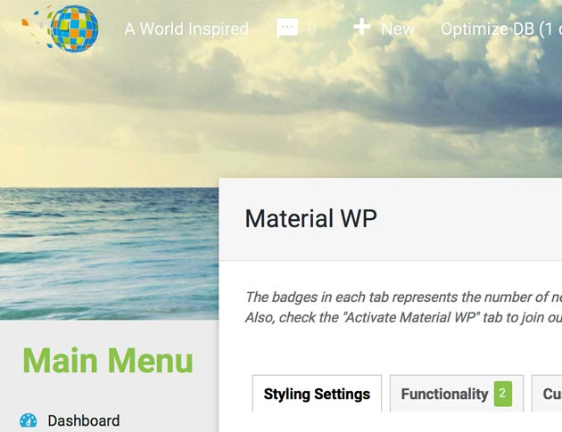 Customize Your WordPress Admin with the Material WP Plugin