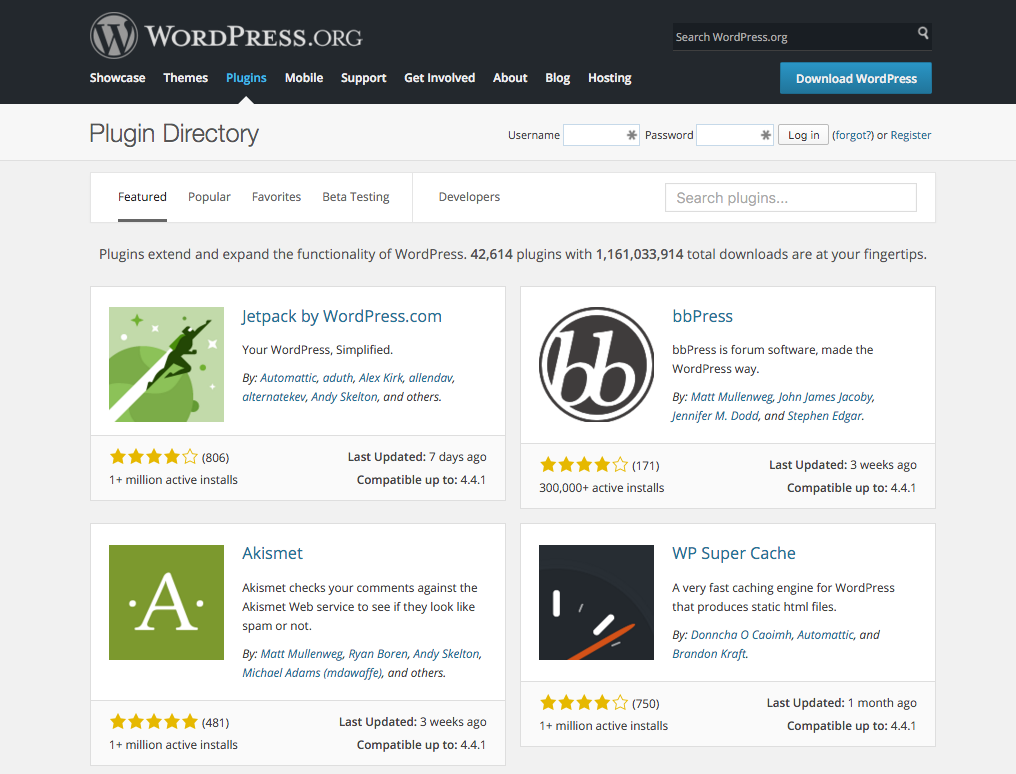 Publishing a Plugin to the WordPress Plugin Directory