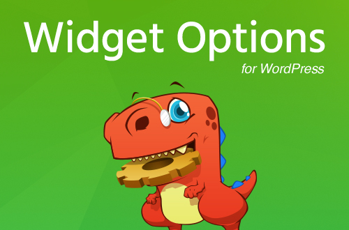 Widget Options – All-in-One WordPress Widget Control