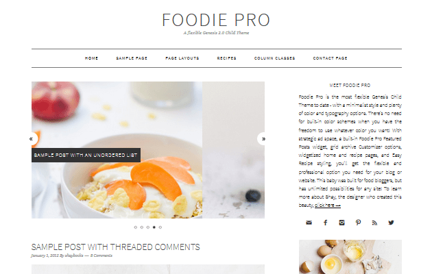15 Delicious Food Blog Themes For Your WordPress Website