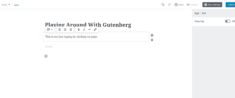 A First Look at Gutenberg Editor for WordPress: Mixed Opinions