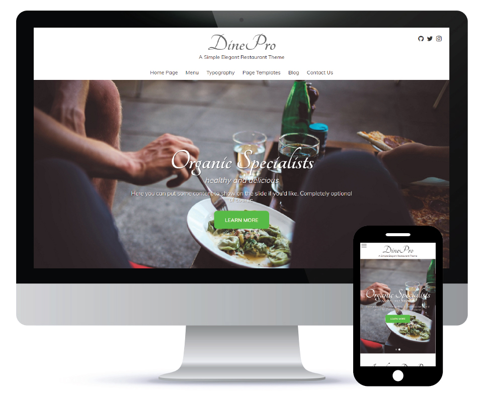 Introducing DinePro: A Genesis Child Theme for Restaurants