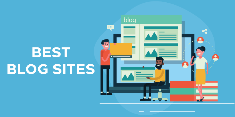 Best Blog Sites Banner Image
