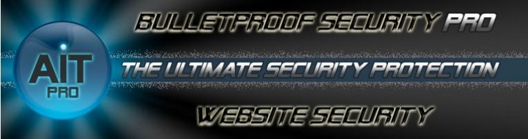 Bullet Proof security main page
