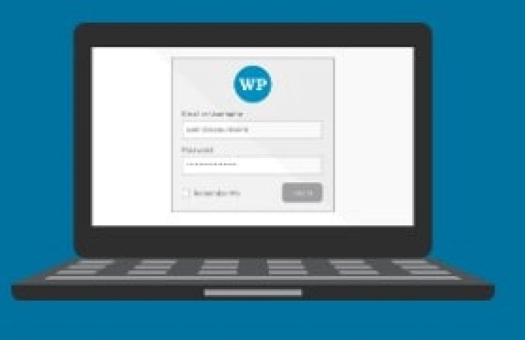 laptop showing wordfence