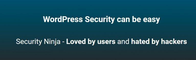 security ninja wp main page