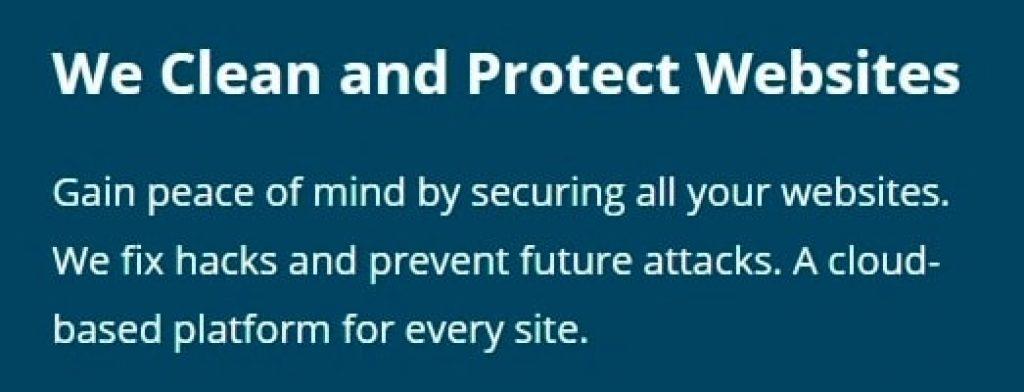 Sucuri Security Main Webpage