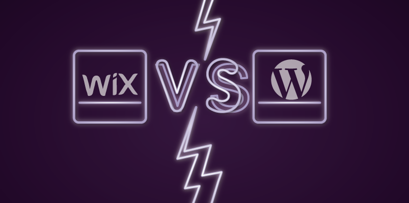 Wix vs WordPress Banner Image