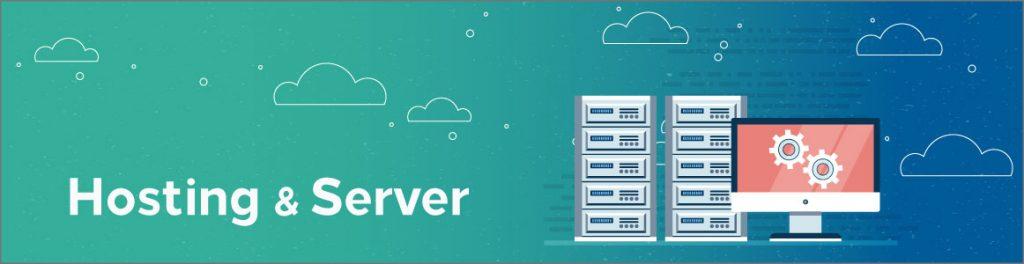banner image of hosting & server category